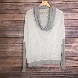 Anthropologie Saturday Sunday Cowl Neck Pullover